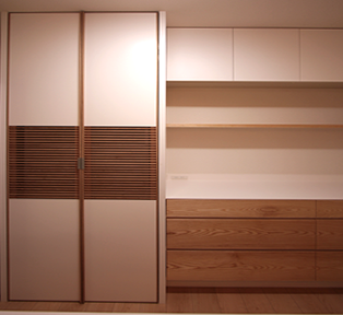 Kitchen storage at Kobe