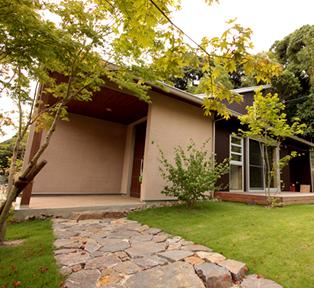 愛知県の天然素材を使った新築住宅