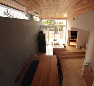 新築住宅のインテリアを製作