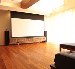 京都オーダー家具とリビングシアター