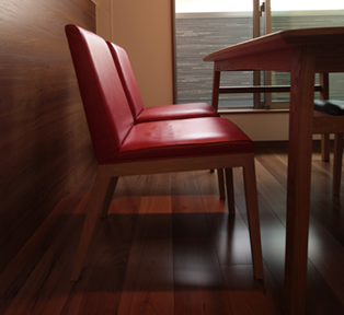 椅子とテーブルの納品事例