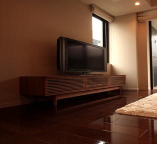 東京都渋谷区N邸TVボード