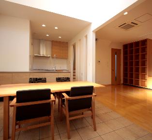 東京荻窪の戸建てリフォーム&オーダー造作家具とオーダーキッチン