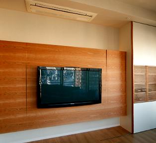 大阪府西区K邸Asymmetryの家具
