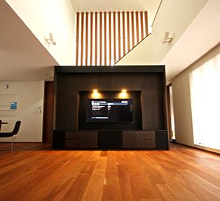 神戸市S邸壁面テレビボード&ホームシアター