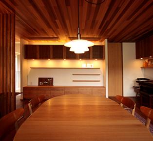 神戸市O邸 ブラックチェリー新築据え付け家具