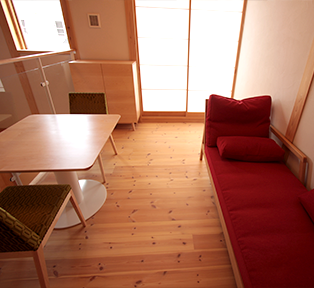埼玉県熊谷市Y邸メーイプルのプレイルームファニチャー